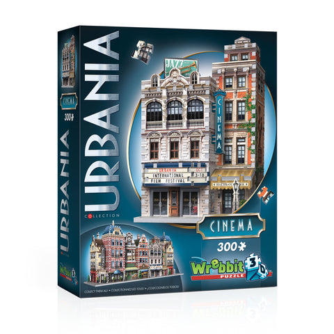 3D Puzzles: Urbania Collection - Cinema