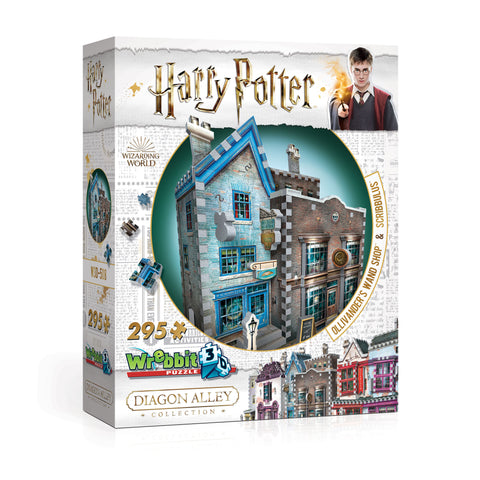 3D Puzzles: Harry Potter - Diagon Alley Collection - Ollivander's Wand Shop™ and Scribbulus™