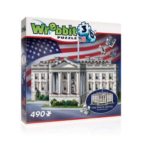 3D Puzzles: American Icons Collection - The White House