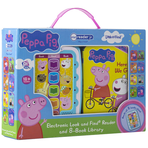 ME Reader JR 8pk Book in Book: Peppa Pig