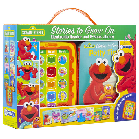 ME Reader JR 8pk Book in Book: Sesame Street: Stories to Grow On with Elmo