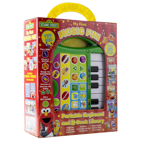 My First Music Maker 8 Book Set: Sesame Street