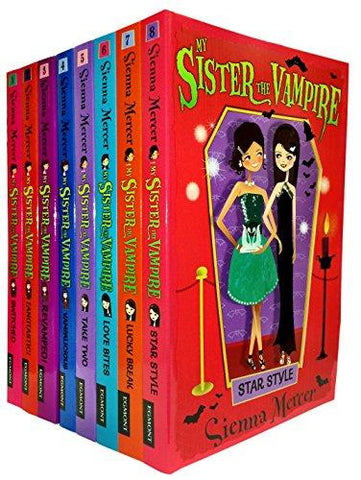 My Sister the Vampire - Series 1 (Books 1 to 8) Collection Pack