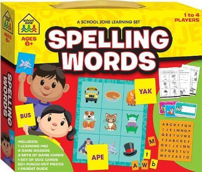 A School Zone Learning Set: Spelling Words