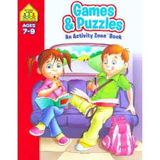 Activity Zone Deluxe Workbooks: Games and Puzzles