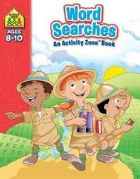 Activity Zone Deluxe Workbooks: Word Searches