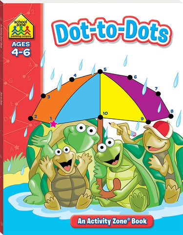 Activity Zone Deluxe Workbooks: Dots-to- Dots