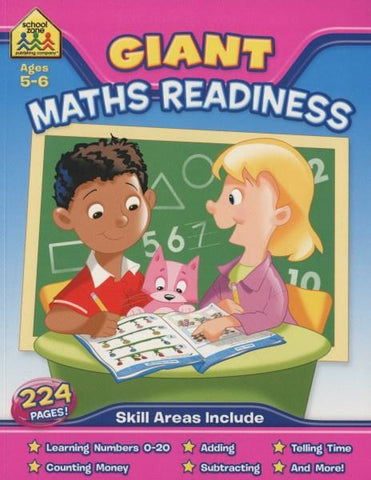 School Zone Giant Workbooks: Maths Readiness (Ages 5-6)