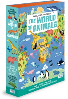 Travel, Learn and Explore - The World of Animals
