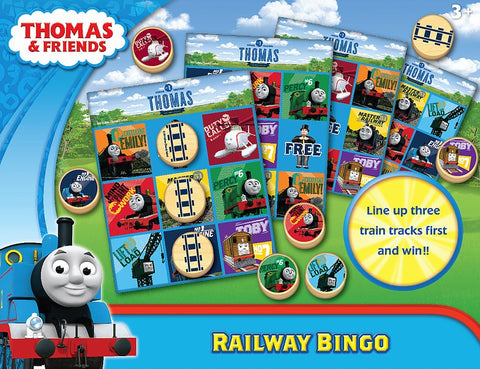 Thomas & Friends Railway Bingo