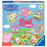 Children's Games - 6 in 1 Games: Peppa Pig