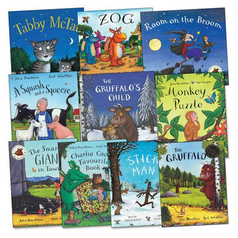 The Julia Donaldson 10-book Collection
