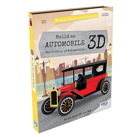 Travel, Learn and Explore - Book and 3D Model: Build an 3D Automobile