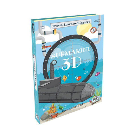 Travel, Learn and Explore: 3D Submarine
