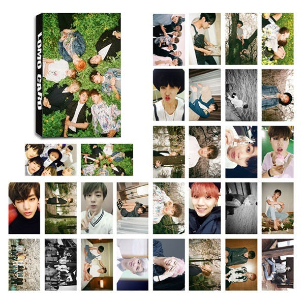 Bts Young Forever Album Photocards