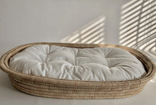 Kocoon Sleep. Change. Play Mat (shallow basket with merino wool mattress)