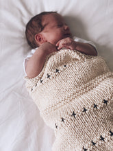 Chunky Nordic Signature Knit Crib Blanket