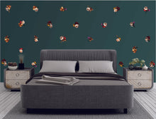 Floraison at Dusk Wall Pattern Decals
