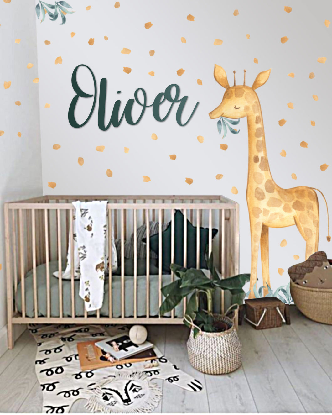 Ginger the Giant Giraffe Wall Art