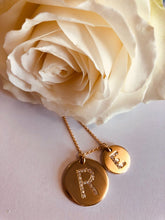 9ct Initial Pendant Necklace