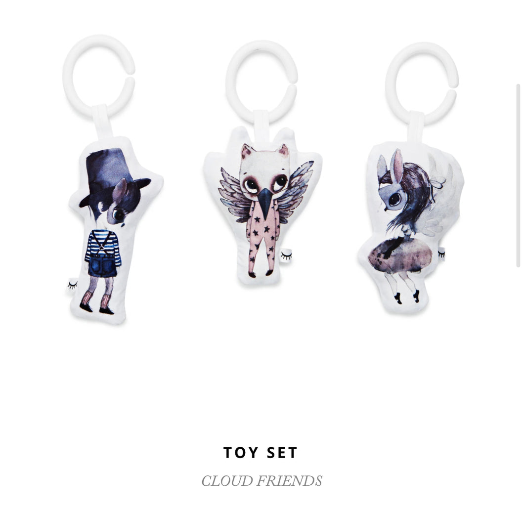 Dockatot Toy Set Cloud Friends
