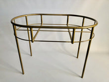 Kocoon GOLD Steel frame Moses basket stand / Changing station / Serving table (w/o woven base)
