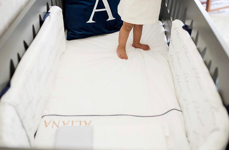 Personalized Cot Bumpers