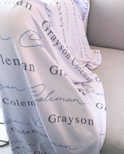 Personalized Swaddles