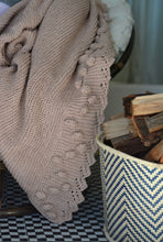 Bobble lacy edge blankets – Eco Cotton – Homeware