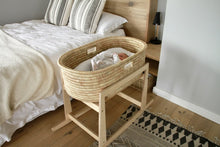 Moses Basket Ko-coon Natural - with keyhole handles