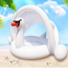 PREORDER: BABY SWAN FLOAT WITH CANOPY