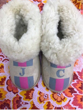 Adult Initial Slippers