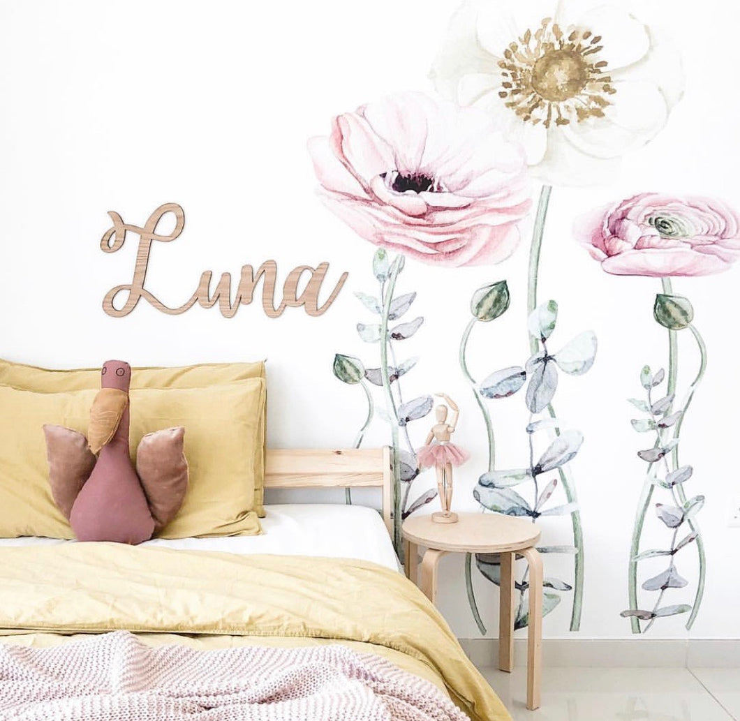 Lunas Wild Flowers Wall Art