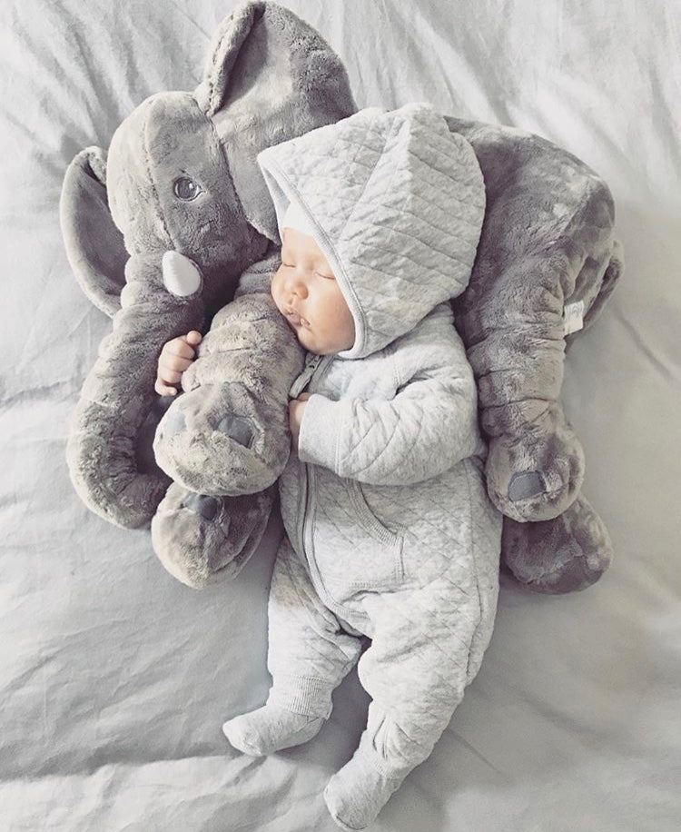 Plushy Elephant Pillow Baby Couture