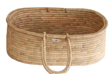 Kocoon Moses Basket Natural - with round weaved handles