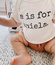 Personalized Name Onesie