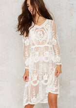 Princess Lace Cover-Up - Cream