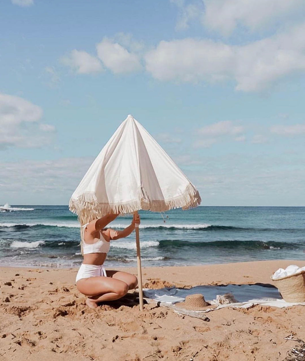 Bohemian Beach Umbrellas