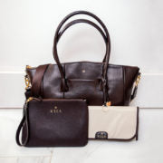 Coffee Lux Changing Bag