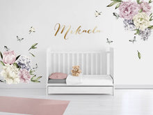 Peony Paradise Wall Decals