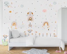 Unicorns and Rainbows Wall Art Set