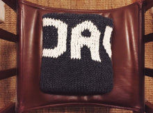 Personalized Chunky Hand Knit Blanket