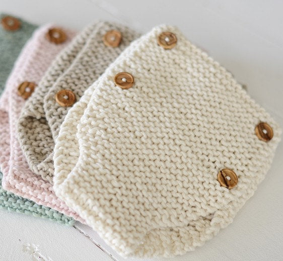 Beau Knit Diaper Cover