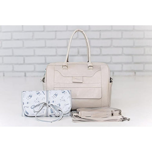 HG Signature Large Leather Diaper Bag