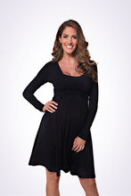 UltiMum Dress Black (Long-Sleeved)