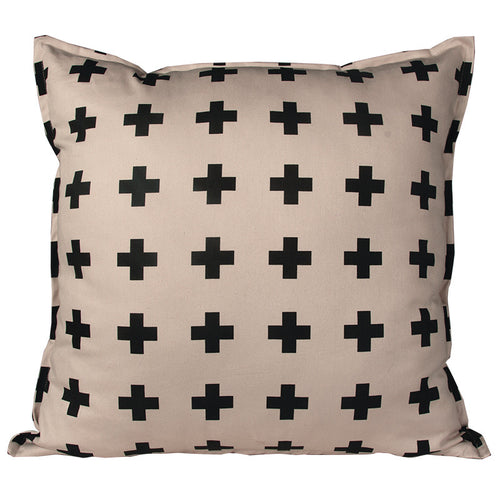 Swiss Cross Stone Cushion