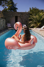PRE-ORDER: Luxe Rose Gold Flamingo Float