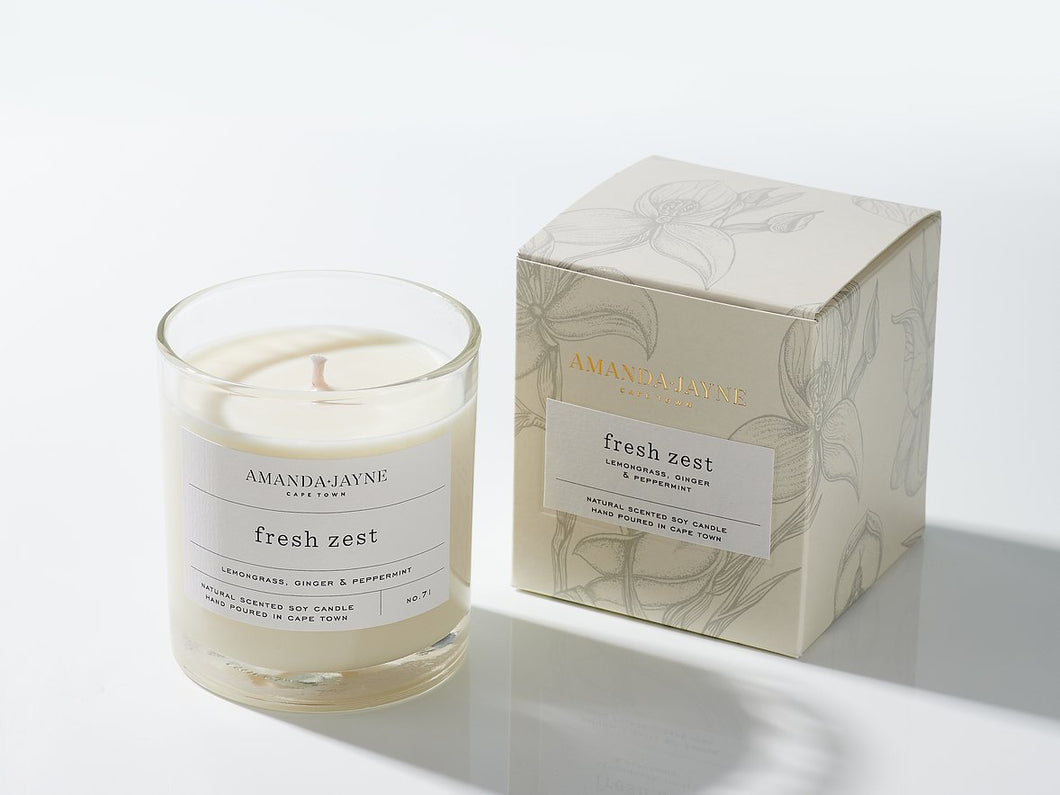 Fresh Zest | Amanda Jayne Candles