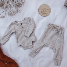 Baby Ribbed Set