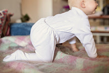 Thermal Cotton Onesie - White